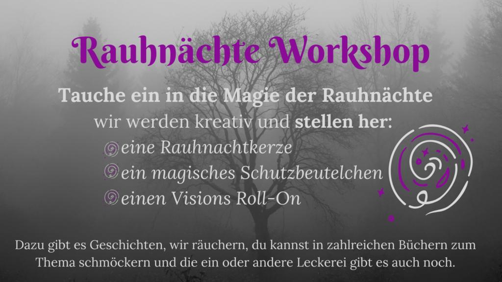 Workshop Rauhnächte