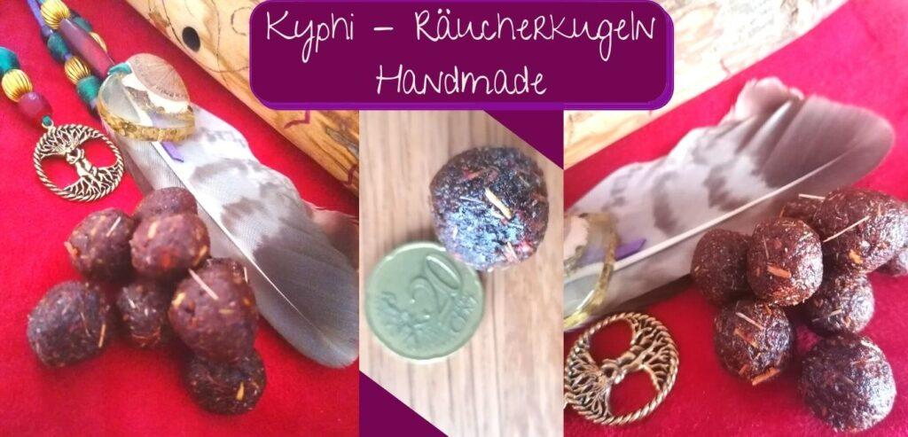 Kyphi - Räucherkugeln Handmade