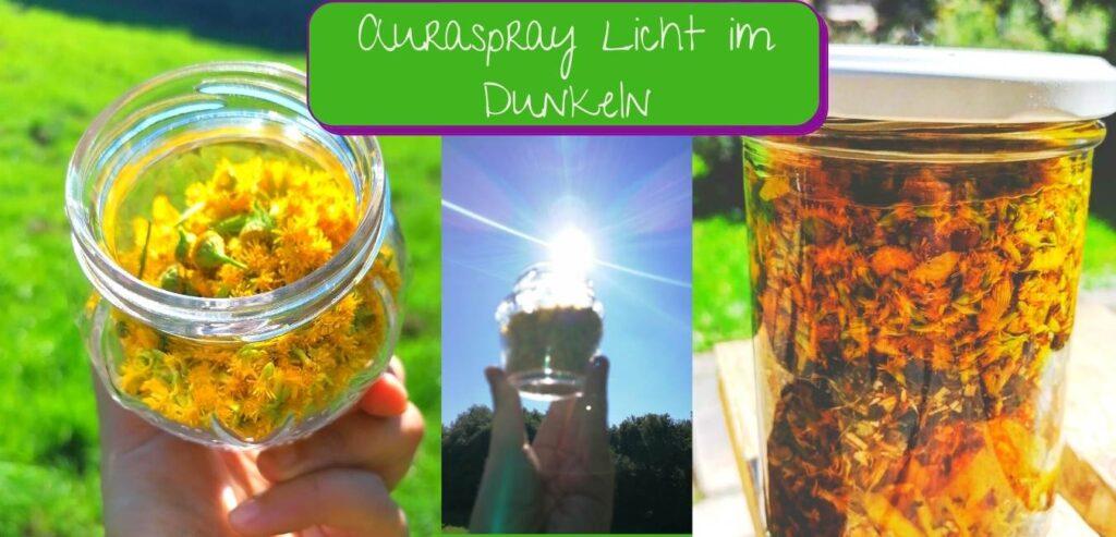 auraspray raumspray licht im dunkeln sonne im herzen lichtvolles energiespray